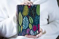 Деревянный блокнот Sketchbook Тропики 15х21 см