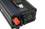 Преобразователь Инвертор 12V-220V 1000W с зарядкой, фото 4