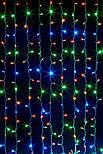 Светодиодная Гирлянда Водопад Новогодняя 240 LED 2 х 1,5 м, фото 5