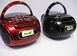 Бумбокс Golon MP3 Колонка Спикер RX 186 Радио, фото 4