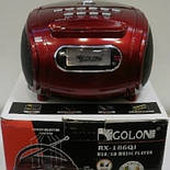 Бумбокс Golon MP3 Колонка Спикер RX 186 Радио, фото 5