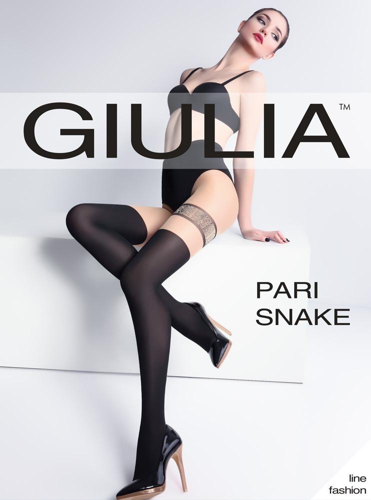 """Колготки женские ТМ """"GIULIA"""" Pari Snake 60 (60 Den, размер 3) (от 3 шт)"""