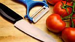 Набор Ceramic Knife Керамический Нож и Овощечистка, фото 4