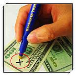 Детектор Валют Banknote Tester Pen Маркер, фото 2