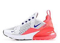 Женские кроссовки Nike Air Max 270 white-pink