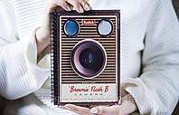 Деревянный блокнот Sketchbook Объектив 15х21 см