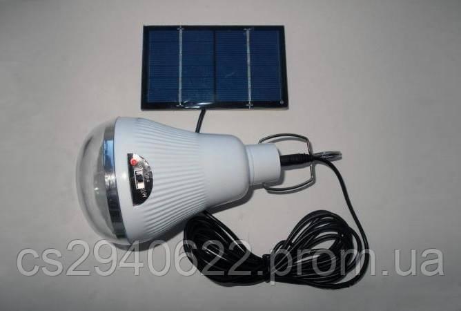 Светодиодная Лампа с Солнечной Панелью GR 020