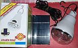 Светодиодная Лампа с Солнечной Панелью GR 020, фото 2
