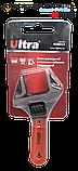 Ключ разводной с тонкими губками укороченный 120мм, 0-24мм CrV Ultra (4100212), фото 4