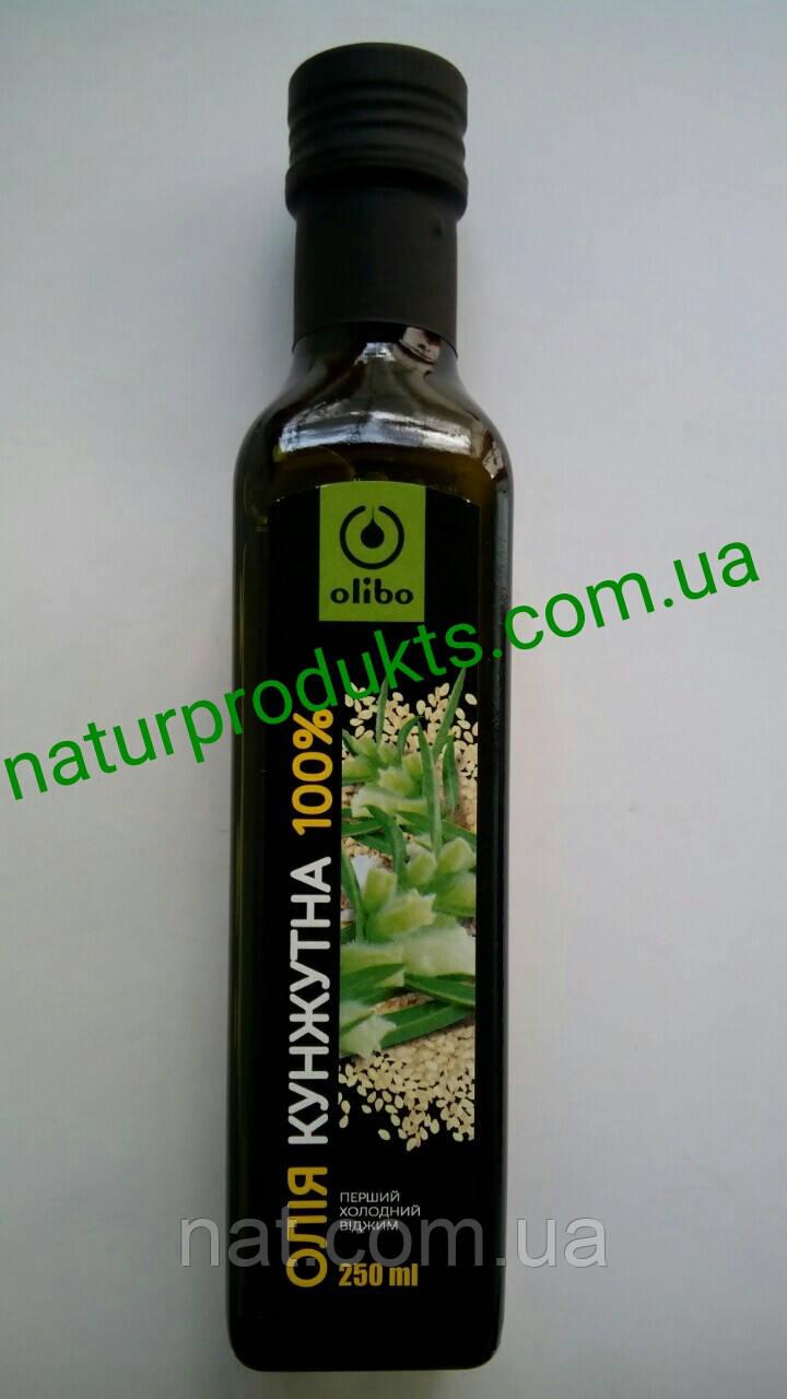 "Масло кунжутное 100% сыродавленное ТМ ""Eco Oliva"" (оно же Olibo, Rich oil), 250 мл"