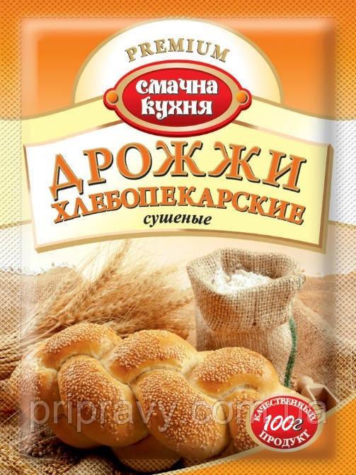 Дрожжи хлебопекарские сушеные ТМ Смачна кухня, 100г