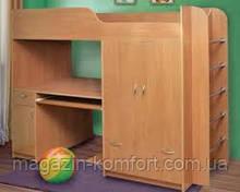 Кровать двухярусная Дуэт - 1 со столом