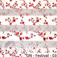 Рулонные шторы для окон Sunny в системе День Ночь, ткань DN-Festival