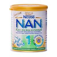 НАН кисломолочный 1 молочная смесь, 400 г, nan premium nestle