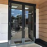 Входные теплые алюминиевые двери