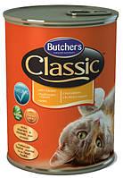 Консерва с курицей для кошек Butchers Cat Classic with Chicken