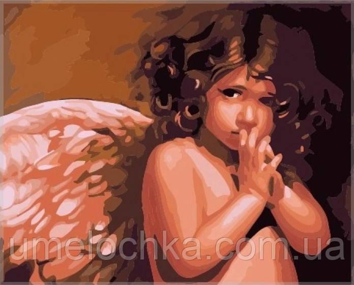 Картина по номерам Идейка Ангелочек KH295