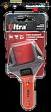 Ключ разводной с тонкими губками укороченный 140мм, 0-34мм CrV Ultra (4100222), фото 4
