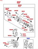 Колодки тормозные задние, Kia Niro 2016-, 58302g2a40, фото 3