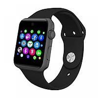 Smart watch DM09(LF07) black реплика Apple Watch, смарт часы, умные часы черные