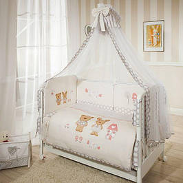 Детское постельное белье 4 и 5 в 1