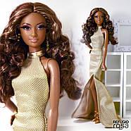 """Коллекционная кукла Барби """"Красная ковровая дорожка"""" / Red Carpet Barbie - Gold Gown, фото 2"""