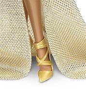 """Коллекционная кукла Барби """"Красная ковровая дорожка"""" / Red Carpet Barbie - Gold Gown, фото 5"""