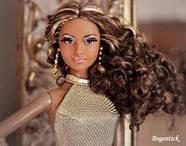 """Коллекционная кукла Барби """"Красная ковровая дорожка"""" / Red Carpet Barbie - Gold Gown, фото 6"""