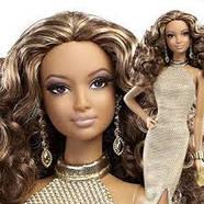 """Коллекционная кукла Барби """"Красная ковровая дорожка"""" / Red Carpet Barbie - Gold Gown, фото 8"""