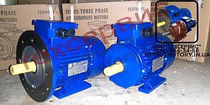 Электродвигатели общепромышленные АИР80А8У2 0,37 кВт 750 об/мин ІМ 1081  , фото 2