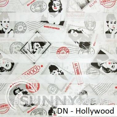Рулонные шторы для окон Sunny в системе День Ночь, ткань DN-Hollywood