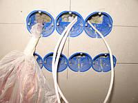 Проводка электрики (гипсокартон)