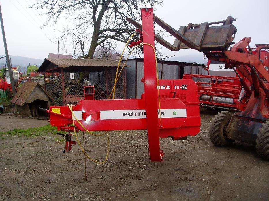 Січкарня для переробки кукурудзи та зеленої маси на силос Pottinger MEX II-K