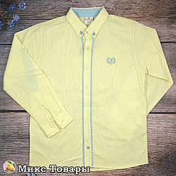 Турецькі сорочки для хлопчика Розміри: 9,10,11,12 років (8357-1)