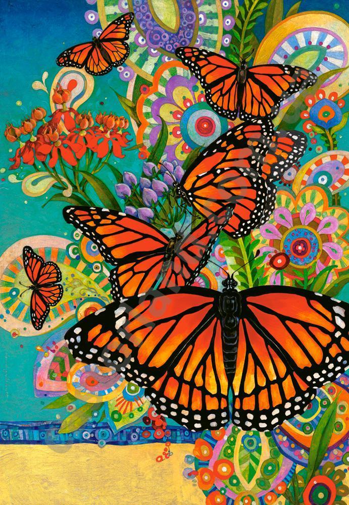 Пазлы Бабочки Монархи 1000 элементов