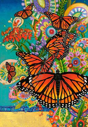 Пазлы Бабочки Монархи 1000 элементов, фото 2
