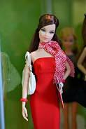Коллекционная кукла Барби Базовая модель /Barbie Basics Model №3 Collection RED, фото 4