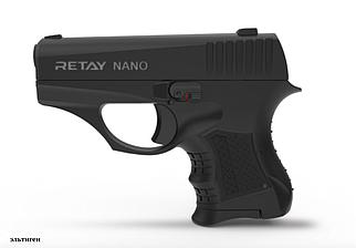 Пистолет стартовый Retay Nano кал. 8 мм -black
