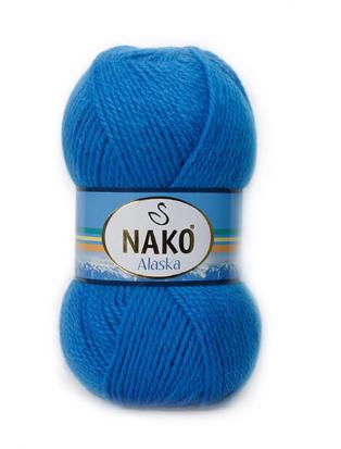Nako Alaska / Аляска / 5% мохер, 15% шерсть молодых овец, 80% акрил