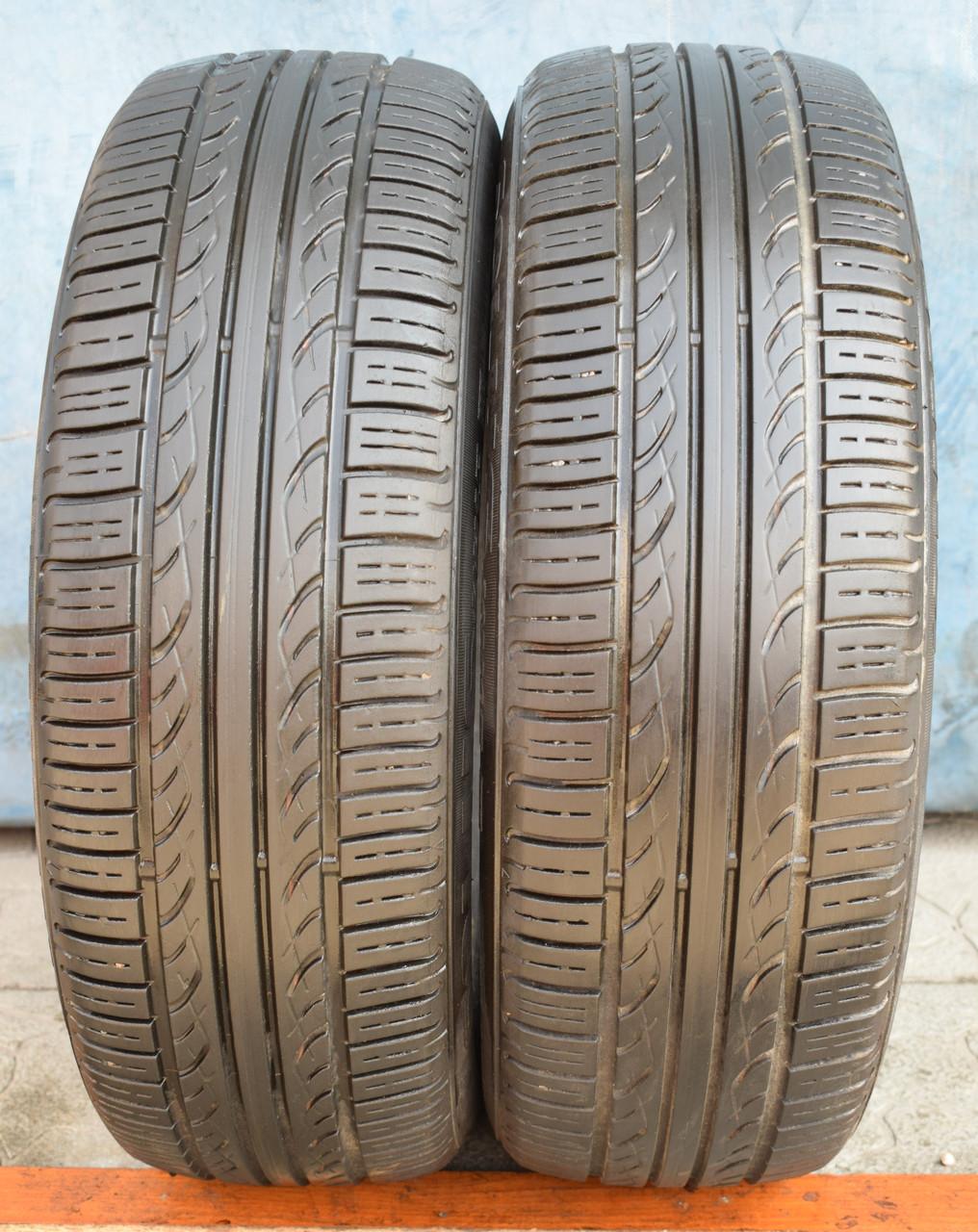 Шины б/у 185/65 R15 Kumho Solus KH15, ЛЕТО, пара, 5.5 мм