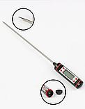 Цифровий термометр для харчових продуктів зі щупом, фото 2