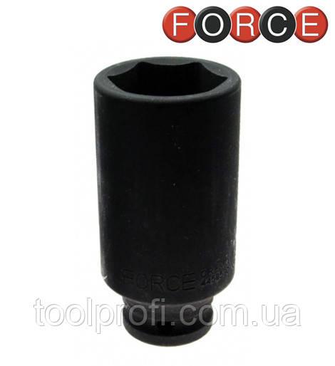 """Головка шестигранная ударная длинная 1"""", 41 мм (Force 4858041)"""