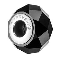 Намистина Сваровскі у стилі Pandora 5948 Jet (упаковка 12 шт)