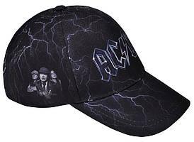 БЕЙСБОЛКА FULL PRINT AC/DC (BAND WITH LOGO)