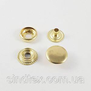 Кнопка №61 - 15мм Блэк Золото (Киевская) 720шт