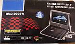 Портативный DVD Плеер 999 USB Game TV 9,5 дюймов, фото 8