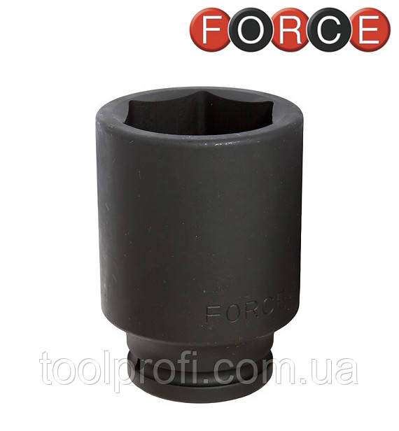 """Головка шестигранная ударная удлиненная 1"""", 46 мм (Force 48510046)"""