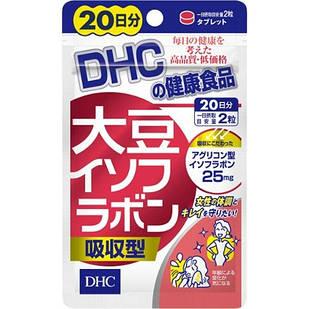 DHC изофлавоны сои + лактобионовая кислота + экстракт хмеля + экстракт льна 40 таб на 20 дней