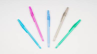 Шариковая ручка RADIUS MATRIXX. 5 разных цветов корпуса. Цвет стержня синий