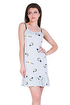 Молодежная ночная рубашка 19009-2
